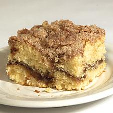 Weekend Guests Wake Them Up With Cinnamon Streusel Coffeecake