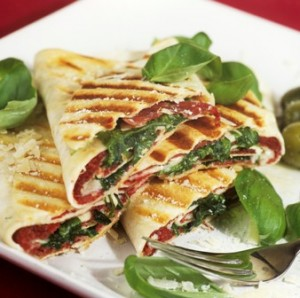 Mediterranean Diet Recipe Panini With Sun Dried Tomatoes