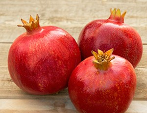 Pomegranates . . . a superfood.  Photo:  www.pomwonderful.com/