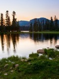 Mirror Lake. Photo credit: Utah Office of Tourism