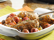 Chicken and Potatoes made easy with slow cooker