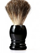 istock.Mens skin care. brush