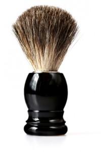 istock.Mens skin care. brush