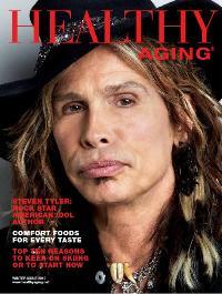 Healthy Aging Magazine. Steven Tyler Cover