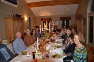 Multi Generational Thanksgiving