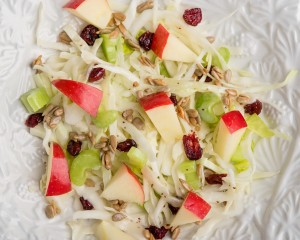 tasting the seasons book CranberryAppleSalad