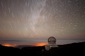 Garafía (Isla de la Palma). Observatorio Astrofísico Internaci