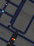 google map pac man