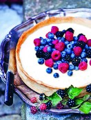 Panna Cotta Pie from The Summer Table