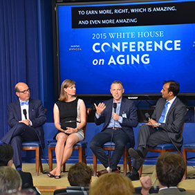 White House Conference on Aging panel