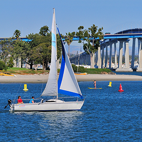 Coronado Bridge Glorietta Bay -Courtesy Brett Shoaf Artistic Visuals
