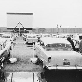 Drive-In Movie. Deposit Photos.