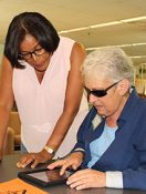 Visually Impaired Readers are Learning from Libraries