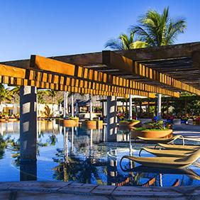 CostaBaja loungers. Photo: CostaBaja Resort