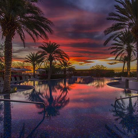 Costa Baja sunset