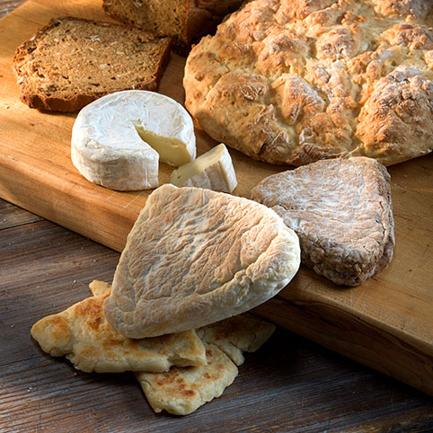 Assorted breads Irish Country Cookbook