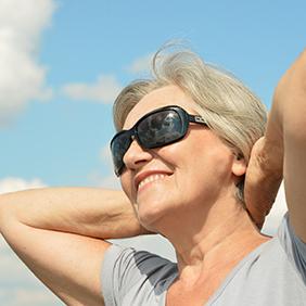 eye health. healthy aging