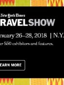 Healthy Aging®Magazine Named One of Official Media Partners for The New York Times 2018 Travel Show
