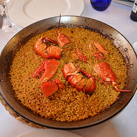 paella with lobster casa carmina healthyaging.net