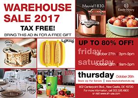 emile henry warehouse sale