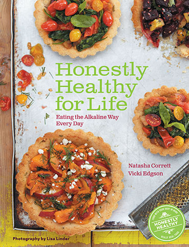 Honestly Healthy for Life book jacket. healthyaging.net