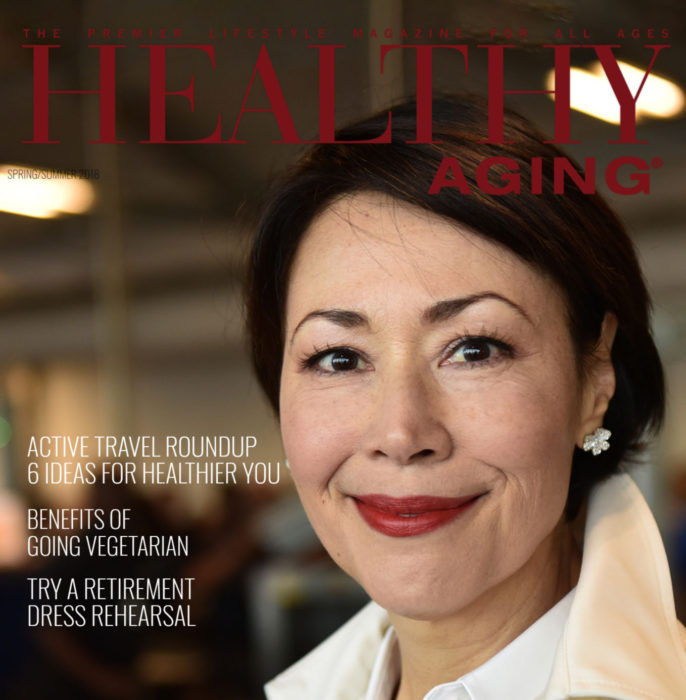 Healthy Aging Magazine cover