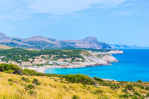 Cala Mesquida Bay, Mallorca,
