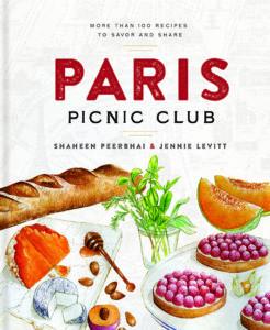 Paris Picnic Club cookbook