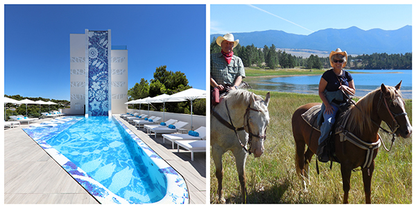 iberostar bar w guest ranch whitefish montana NYTimes travel show