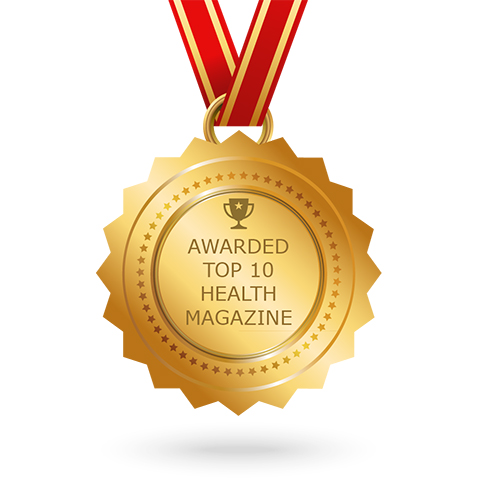 Feedspot top health magazine award
