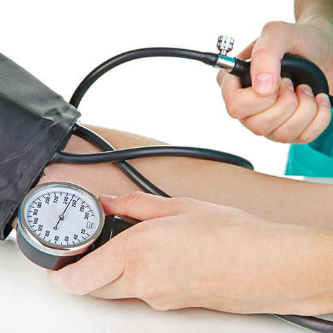 blood pressure being taken healthyaging.net