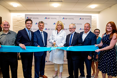 Mt Sinai Martha Stewart Ribbon cutting