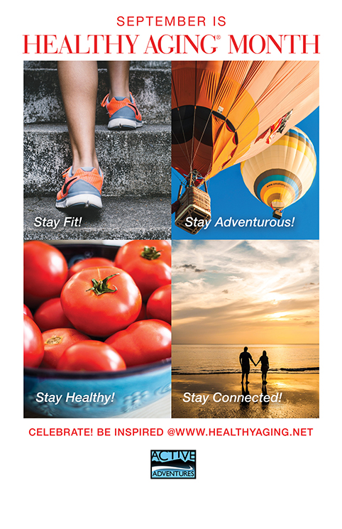 Healthy Aging Month Poster 2019