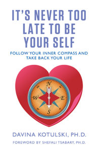 Never too late to be yourself book jacket