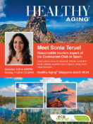 Responsible Tourism Expert to Appear at Healthy Aging Magazine/NY Times Travel Show Booth