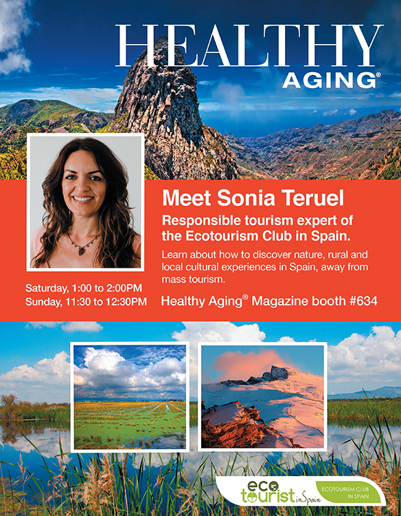 Responsible Tourism Expert to Appear at Healthy Aging Magazine/NY Times Travel Show Booth - Healthy Aging ®
