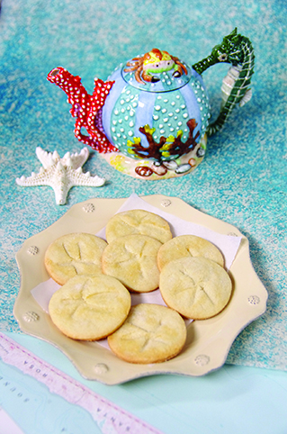 homemade cooking sand dollar cookies