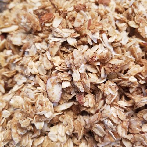 home cooking homemade granola