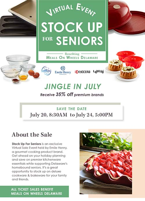 stock up for seniors